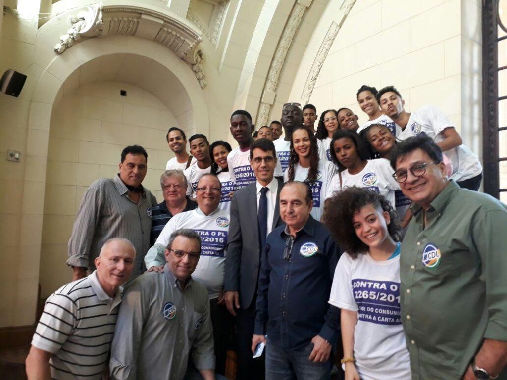Na ALERJ, FCDL e CDLs pela soberania do Movimento Lojista do Estado do Rio de Janeiro.